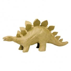 Динозавр с хребтом Фигурка маленькая из папье-маше объемная Decopatch