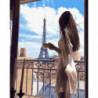 Утро в Париже Раскраска картина по номерам на холсте
