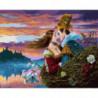 Две души Раскраска картина по номерам на холсте