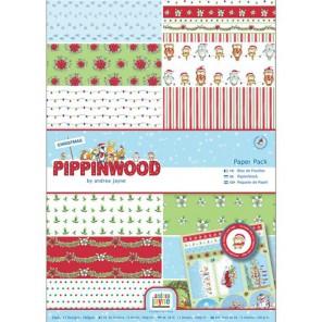 Pippinwood Christmas Набор бумаги А4 для скрапбукинга, кардмейкинга Docrafts