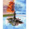 4 сезона Раскраска картина по номерам на холсте