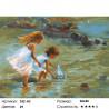Кораблик Раскраска картина по номерам на холсте Белоснежка