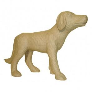 Собака Фигурка маленькая из папье-маше объемная Decopatch