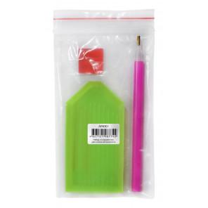 Набор инструментов для алмазной живописи Color Kit AIN001