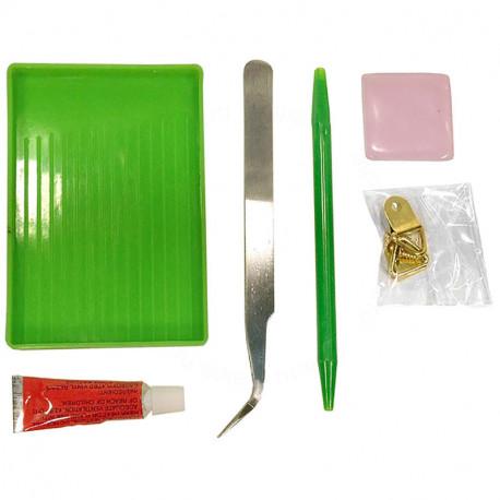 Набор инструментов для выкладывания мозаики