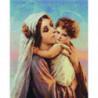 Святые мать и дитя Алмазная мозаика вышивка Painting Diamond
