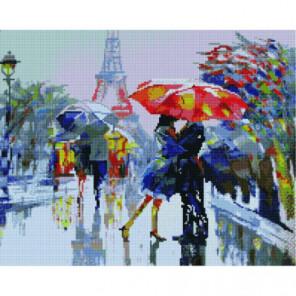 Летний дождь в Париже Алмазная мозаика вышивка Painting Diamond