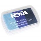 Синие оттенки Штемпельная подушечка Heyda