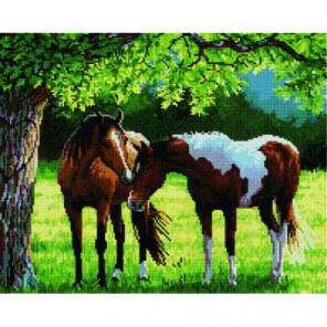 Прогулка лошадей Алмазная мозаика вышивка Painting Diamond