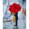 Парижский поцелуй под зонтом Алмазная мозаика вышивка Painting Diamond
