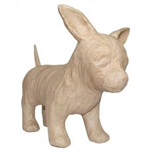 Чихуа-хуа Фигурка маленькая из папье-маше объемная Decopatch