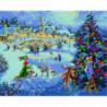 Украшение новогодней елки Алмазная мозаика вышивка Painting Diamond