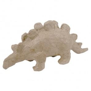 Динозавр с хребтом Фигурка мини из папье-маше объемная Decopatch