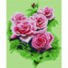 Бутоны роз Алмазная мозаика вышивка Painting Diamond
