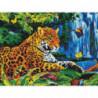 Леопард в джунглях Алмазная мозаика вышивка Painting Diamond