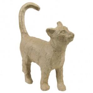 Кошечка Фигурка мини из папье-маше объемная Decopatch
