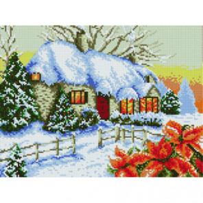 Дом на Рождество Алмазная мозаика вышивка Painting Diamond