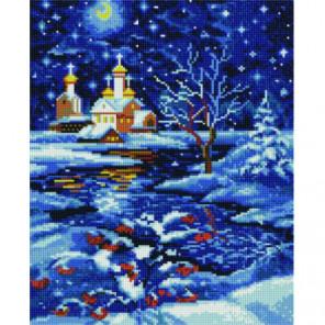 Свет рождественской ночи Алмазная мозаика вышивка Painting Diamond