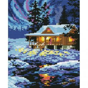Северный домик Алмазная мозаика вышивка Painting Diamond