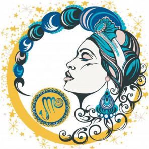 Девушка скорпион, знак зодиака Раскраска картина по номерам на холсте