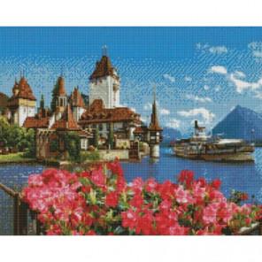 Альпийский залив Раinting Diamоnd Алмазная мозаика вышивка Painting Diamond