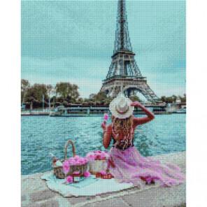 Пикник в Париже Раinting Diamоnd Алмазная мозаика вышивка Painting Diamond