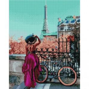 Парижский велосипед Раinting Diamоnd Алмазная мозаика вышивка Painting Diamond