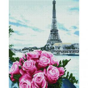 Розы во Франции Раinting Diamоnd Алмазная мозаика вышивка Painting Diamond