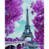 Весенняя Франция Раinting Diamоnd Алмазная мозаика вышивка Painting Diamond