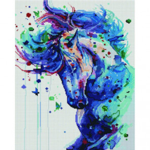 Фантастический конь Раinting Diamоnd Алмазная мозаика вышивка Painting Diamond