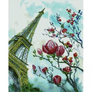 Цветущий Париж Раinting Diamоnd Алмазная мозаика вышивка Painting Diamond