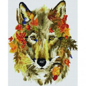 Осенний волк Раinting Diamоnd Алмазная мозаика вышивка Painting Diamond