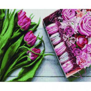 Букет тюльпанов Раinting Diamоnd Алмазная мозаика вышивка Painting Diamond