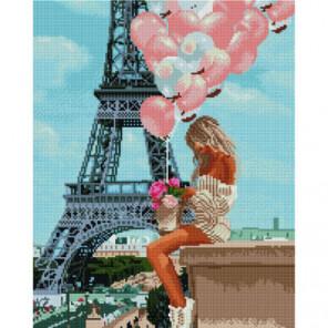 Мечты о Париже Алмазная мозаика вышивка Painting Diamond