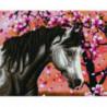 Серый конь Раinting Diamоnd Алмазная мозаика вышивка Painting Diamond