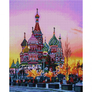Храм Василия Блаженного Раinting Diamоnd Алмазная мозаика вышивка Painting Diamond
