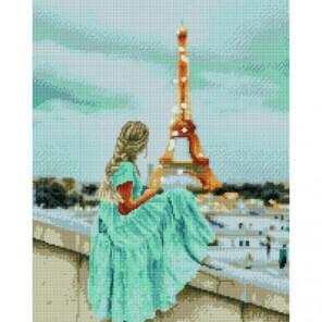 Романтический Париж Раinting Diamоnd Алмазная мозаика вышивка Painting Diamond