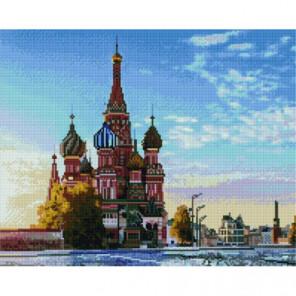 Рассвет на Красной площади Раinting Diamоnd Алмазная мозаика вышивка Painting Diamond