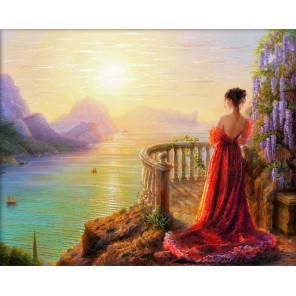 На утренней заре Алмазная вышивка мозаика АЖ-1824