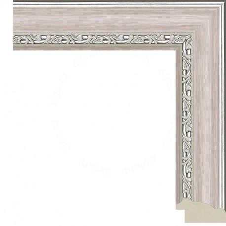 Паула (розовая) Рамка для картины на подрамнике N239