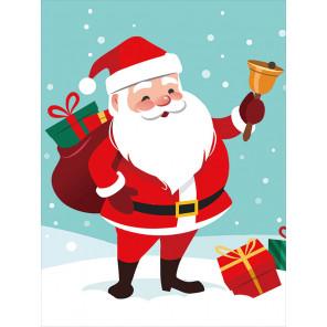 Санта Клаус Алмазная мозаика на подрамнике LE102