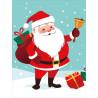 Санта Клаус Алмазная мозаика на подрамнике