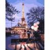 Парижские беседы с подругой Раскраска картина по номерам на холсте