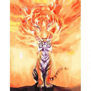 Душа тигра Раскраска картина по номерам на холсте
