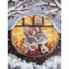Влюбленные кролики Раскраска картина по номерам на холсте