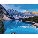 Горная река Раскраска картина по номерам на холсте MG2134