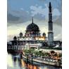 Мечеть Раскраска картина по номерам на холсте