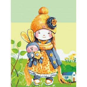 Куколка Раскраска картина по номерам на холсте ME1107