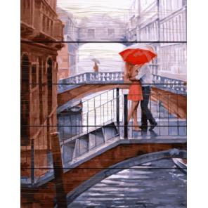 Романтика мостов Картина по номерам на дереве GXT29047