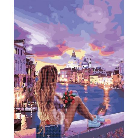 Венецианский бриз Алмазная картина-раскраска по номерам на подрамнике GZS1063